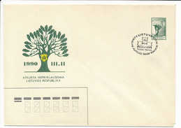 SC Special Cancellation National Philatelic Exhibition Telšiai - 26 May To 4 June 1990 - Lithuania