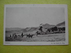 Aux Abords D'un Village. - Lesotho