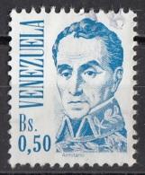 1363 Venezuela 1986 Ritratto Di Simon Bolivar Quadro Dipinto Da J.M. Espinosa Paintings Used