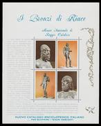 I BRONZI DI RIACE  (Museo Nazionale Di Reggio Calabria) Edito NUOVO CATALOGO ENCICLOPEDICO ITALIANO  / 1972 - Erinnofilia