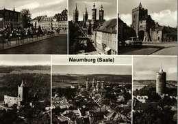 Carte Postale - Allemagne -   NAUMBURG  (Saale)   Multivues - Naumburg (Saale)