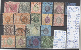 TIMBRE DE Grande-Bretagne (ex-colonies & Protectorats) > Hong Kong    NR VOIR SUR PAPIER AVEC TIMBRES  COTE 114€ - Hong Kong (...-1997)