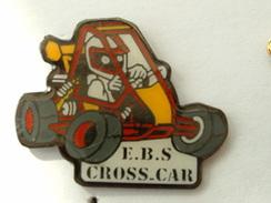 PIN´S E.B.S CROSS CAR - Badges