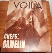 Voilà. N°375. 27 Mai 1938. Le Général Gamelin. Notre Dame Des Courses. La Mosquée à Paris. - Livres, BD, Revues