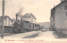 88 - VOSGES / Gerardmer - Le Tramway - Superbe Cliché - Gerardmer