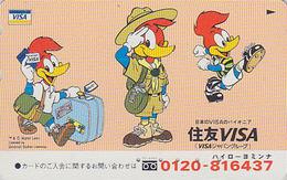 Télécarte Japon / 110-016 - SCOUTISME - Comics - Oiseau PIC - WOODY WOODPECKER - SCOUTING - SCOUT Japan Phonecard - 168 - Comics