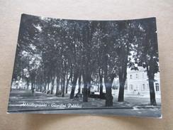 Abbiategrasso - Giardini  - Viaggiata 1953 - Milano