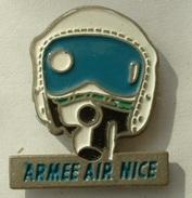 PIN´S ARMEE DE L'AIR - NICE - Militaria