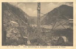 Usine Hydroélectrique De Marege Construction De L'Usine - Otros Municipios