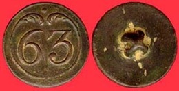 ** BOUTON  1er  EMPIRE  N° 63  G. M. ** - Boutons