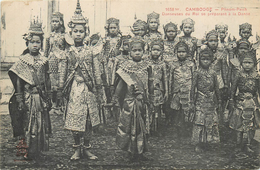 CAMBODGE  Phnom Penh Danseuses Du Roi     2scans