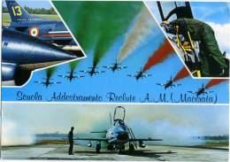 SCUOLA ADDESTRAMENTO RECLUTE  Aereonautica Militare  Macerata - Airplanes