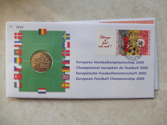 Enveloppe Numismatique Belgique Belgie  Championnat Européen De Football - 1993-...: Albert II