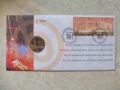 Enveloppe Numismatique Belgique Belgie  Ville Européenne De La Culture - 1993-...: Albert II
