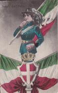 CPA  MILAN (Italie).  Saluti D'all  Italia . ...E887 - Personaggi