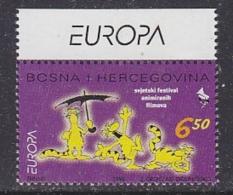 Europa Cept 1998 Bosnia/Herzegovina Mostar 1v (Europa In Margin) ** Mnh (28946F) - 1998