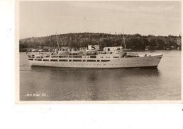 NORGE---RARE---bateaux  M/S  BIRGER JART----voir 2 Scans - Paquebots