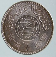 Saudi Arabia - 1/2 Riyal 1935 (AH 1354) - KM# 17 - Silver - Arabia Saudita