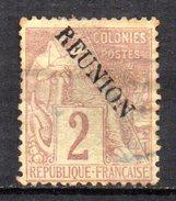 Col3 :  Reunion N° 18  Oblitéré  , Cote : 5,00€ - Oblitérés