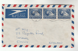 Air Mail SOUTH AFRICA COVER Stamps 3x 1948 ROYAL WEDDING  To GB Royalty - South Africa (...-1961)
