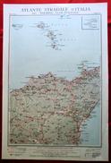 Foglio 44, Patti - Etna, ATLANTE STRADALE D'ITALIA Touring Club Italiano 1923-26 (Dir. L. V. Bertarelli) - Carte Stradali