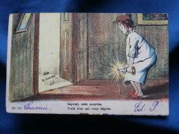 Contre La Lumière  Sapristi, Cette Surprise Voilà Bien Qui Vous Dégrise - N° 732 - Précurseur - Circulée 1905 - R138 - Controluce