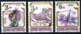 TCHEQUIE, REPUBLIQUE TCHEQUE  Abeilles, Bees, Abejas , Insectes Yvert N°72/74**. MNH. Dentelé, Perforate - Honeybees