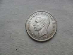 Australia  ONE CROWN 1937  KM#34  28,28 G- Ag 925 Ml  EBC - Crown