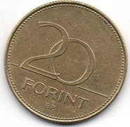Hongrie 20 Forint 2006 - Hungary