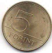 Hongrie 5 Forint 2008 - Hungary
