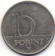 Hongrie 10 Forint 2007 - Hungary