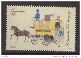 """Österreich 2014: """"Hist.Postfahrzeuge""""    Postfrisch (siehe Foto/Scan) - 1945-.... 2nd Republic"""