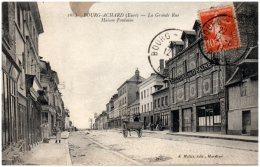 27 BOURG-ACHARD - La Grande Rue - Maison Fontaine  (Recto/Verso) - France
