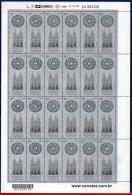 Ref. BR-3208-FO BRAZIL 2012 CHURCHES, PRESBYTERIAN CHURCH,, SESQUICENTENNIAL, SHEET MNH 24V - Glasses & Stained-Glasses
