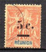 Col3 :  Reunion N° 52 Oblitéré  , Cote : 10,00€ - Oblitérés