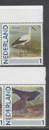 NETHERLANDS, MNH, PERSONALIZED STAMPS, BIRDS, STORKS,  2v - Storks & Long-legged Wading Birds