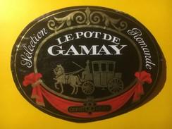 3800 - Le Pot De  Gamay  Sélection Romande Suisse - Etiquettes