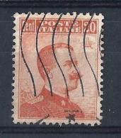 RE70) 1916 Vitt. Emanuele III A DX 20cent.arancio Used UNIF. 107 - 1900-44 Victor Emmanuel III
