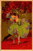 Illustrateur, T. Corbella, Arlequin    (bon Etat) - Corbella, T.