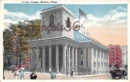 Kings Chapel - Boston - Boston