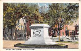 Longfellow Monument - Portland - Portland