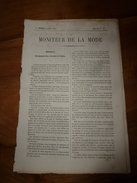 1864  Les Pieds Chinois; La Place Aux Lapins:Tribu Des Béni-Ghobri;Panthère à Tizi-Ouzon ? Ou Tizi-Ouzou (Algérie) ; Etc - Vieux Papiers