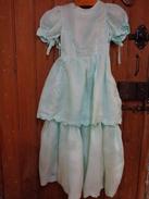 Robe Epaule A Epaule 30cm Organdi Sous Reserve - 1940-1970