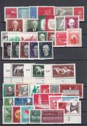 DDR - 1958 - Annata Completa | Complete Year Ser ** MNH (640/642 = DV) - [6] République Démocratique
