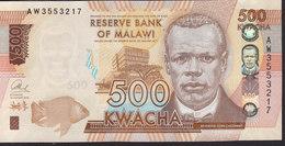 Malawi 500 Kwacha 2014 P61 UNC - Malawi