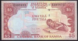 Samoa 5 Tala 2002 P33A UNC - Samoa