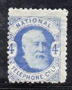 XP2970 - GRAN BRETAGNA 1884 , Francobolli Telefono 4 D  Nuovo  * - Gran Bretagna