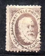 XP2971 - GRAN BRETAGNA 1884 , Francobolli Telefono 1 Sh Usato - Gran Bretagna