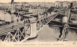 CPA BREST - PORT MILITAIRE - LE PONT NATIONAL - Brest