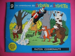 BD - 065 - Sylvain Et Sylvette - N° 9 - Raton Cosmonaute - 1968 - Album Fleurette - Sylvain Et Sylvette
